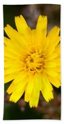 Pretty In Yellow Beach Towel