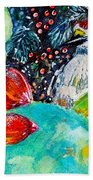 Prickly Pear Cactus Study II Beach Towel
