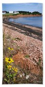 Prince Edward Island Coastline Beach Towel