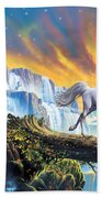 Prince Of The Mountains Beach Towel