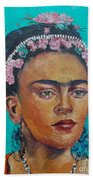 Princess Frida Beach Towel