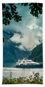Princess Louisa Inlet Beach Towel