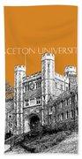 Princeton University - Dark Orange Beach Towel