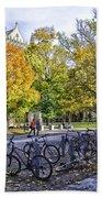 Princeton University Campus Beach Towel