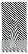 Prism Stripes 1 Beach Towel