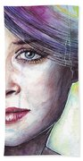Prismatic Visions Beach Towel by Olga Shvartsur