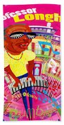 Professor Longhair Beach Towel