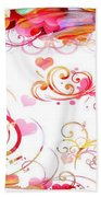 Profound Thought Whirls Beach Towel