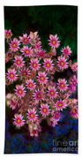 Promising Pink Petals Abstract Garden Art By Omaste Witkowski Beach Towel