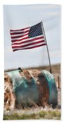 Proud To Be An American Beach Towel