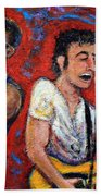 Prove It All Night Bruce Springsteen And The E Street Band Beach Towel by Jason Gluskin