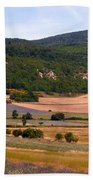 Provence Landscape Beach Sheet