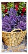 Provence Lavender Beach Towel