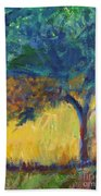 Provence Tree Beach Towel