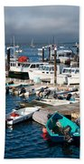 Provincetown Piers Beach Towel