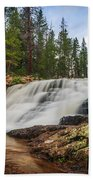 Provo River Falls 2 Beach Towel