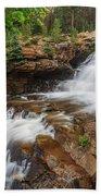 Provo River Falls Beach Towel