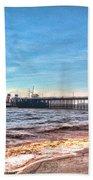 Ps Waverley At Penarth Pier 2 Beach Sheet