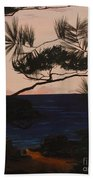 Psalms 136 Verse 7 And 8 Right Panel Beach Towel