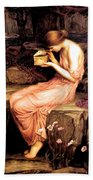 Psyche Opening The Golden Box 1903 Beach Towel