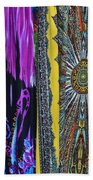 Psychedelic Dresses Beach Towel