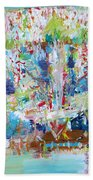Psychedelic Object Beach Towel