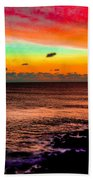 Psychedelic Sky Beach Towel