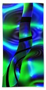 Psychedelic Streamers By Jammer Beach Towel
