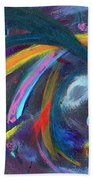 Psychedelic Winds Beach Towel