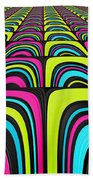 Psychel - 003 Beach Towel by Variance Collections