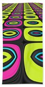 Psychel - 005 Beach Towel by Variance Collections