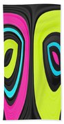 Psychel - 006 Beach Towel by Variance Collections