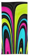 Psychel - 007 Beach Towel by Variance Collections