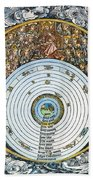 Ptolemaic Universe, 1493 Beach Towel