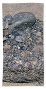 Puddingstone Conglomerate Beach Towel