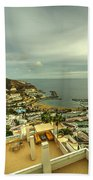 Puerto Rico From Above  Beach Towel
