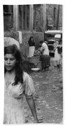Puerto Rico Slum, 1942 Beach Towel