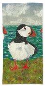 Puffin Island Beach Towel