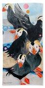 Puffins Beach Towel