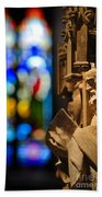 Pulpit Trinity Cathedral Pittsburgh Beach Towel