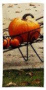 Pumpkin Barrow Beach Towel