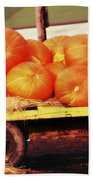 Pumpkin Load Beach Towel