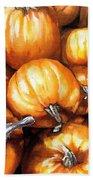 Pumpkin Palooza Beach Towel