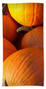 Pumpkins Beach Towel