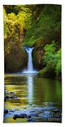Punchbowl Falls Beach Towel