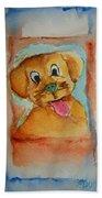 Puppy Beach Towel