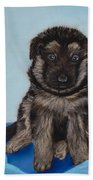 Puppy - German Shepherd Beach Towel