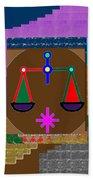 Pure Decoration Zodiac Symbol Art Beach Towel