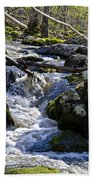 Pure Mountain Stream Beach Towel