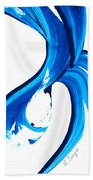Pure Water 260 Beach Towel by Sharon Cummings